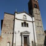 24 May 2016: Visit at St. Stefano's Church, Vimercate.