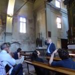 24 May 2016: Visit at St. Antonio's Church, Vimercate.