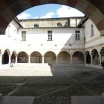 25 May 2016: Visit at St. Antonio's Cloister, Morbegno.